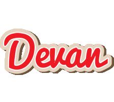 Devan chocolate logo