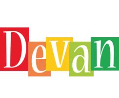Devan colors logo
