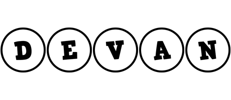 Devan handy logo