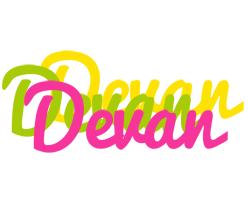 Devan sweets logo