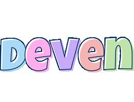 Deven pastel logo
