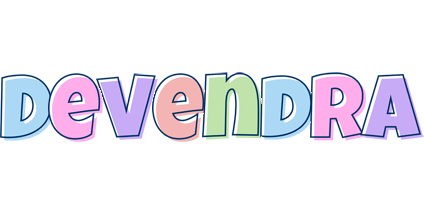 Devendra pastel logo