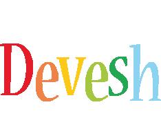 Devesh birthday logo