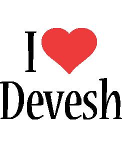 Devesh i-love logo