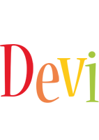Devi birthday logo