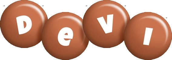 Devi candy-brown logo