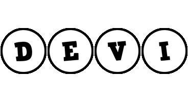 Devi handy logo