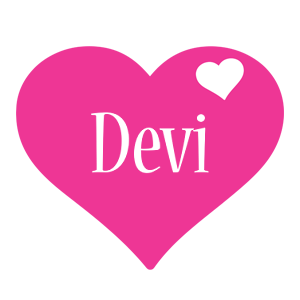 Devi love-heart logo