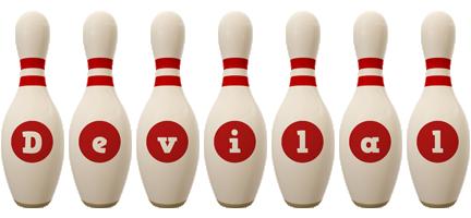Devilal bowling-pin logo