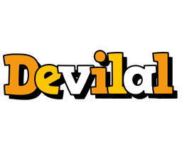 Devilal cartoon logo