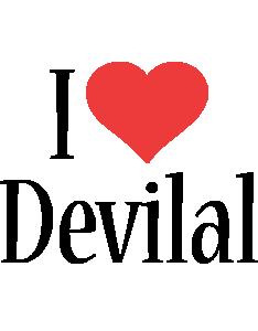 Devilal i-love logo