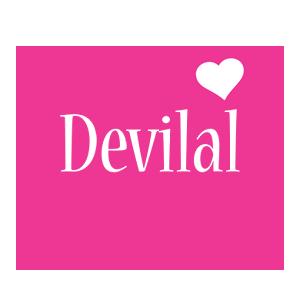 Devilal love-heart logo