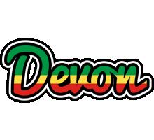 Devon african logo