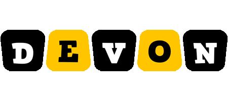 Devon boots logo