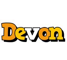 Devon cartoon logo