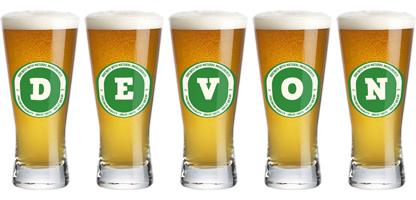Devon lager logo