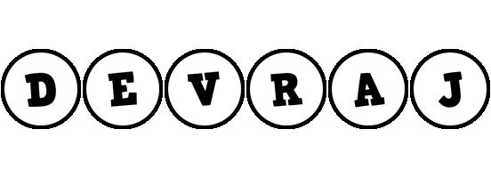 Devraj handy logo