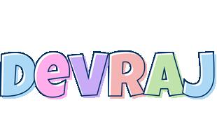 Devraj pastel logo