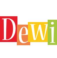 Dewi colors logo