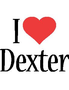 Dexter i-love logo