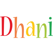 Dhani birthday logo