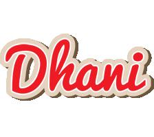 Dhani chocolate logo