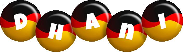 Dhani german logo