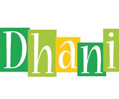 Dhani lemonade logo