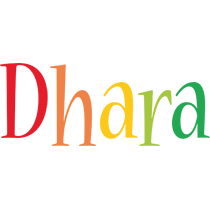 Dhara birthday logo