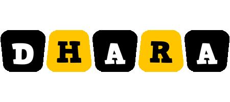 Dhara boots logo
