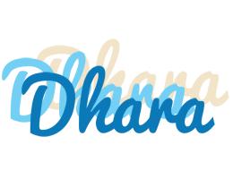 Dhara breeze logo