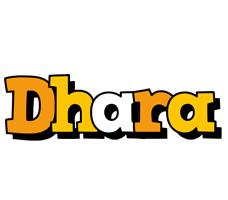 Dhara cartoon logo