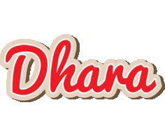 Dhara chocolate logo