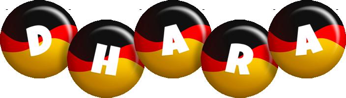 Dhara german logo