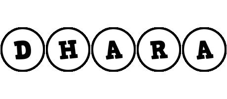 Dhara handy logo