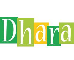 Dhara lemonade logo