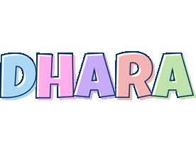 Dhara pastel logo