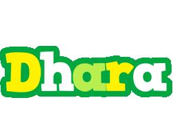 Dhara soccer logo