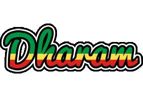 Dharam african logo