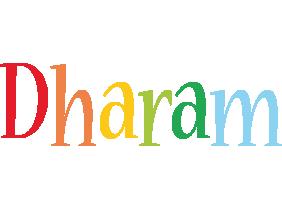Dharam birthday logo