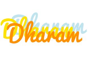 Dharam energy logo
