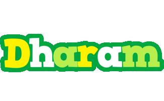 Dharam soccer logo