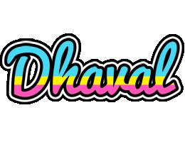 Dhaval circus logo