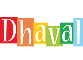 Dhaval colors logo