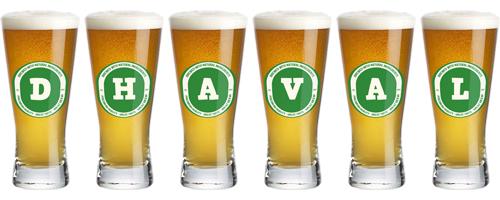 Dhaval lager logo