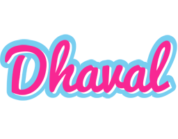 Dhaval popstar logo