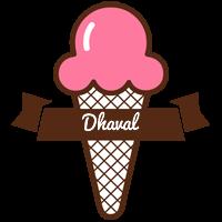 Dhaval premium logo