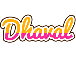 Dhaval smoothie logo