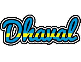 Dhaval sweden logo