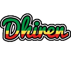 Dhiren african logo